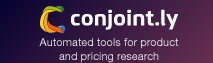 Conjoint.ly: Automated tools and expert support for product and pricing research