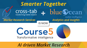 Smarter Together... Cross-Tab and Blueocean are now merged as Course5 - Transformative Intelligence