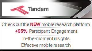 Tandem - check out the NEW mobile research platform