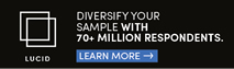 Diversify your sample with 70+ million respondents