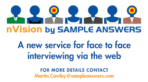 nVision by Sample Answers - a new service for face-to-face interviewing via the Web