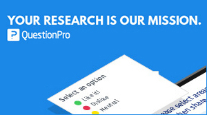 QuestionPro - your research is our mission