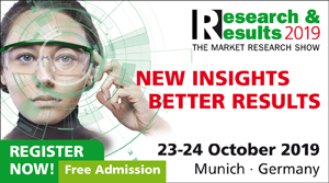 Research & Results 2019 - Register to attend now!