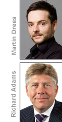 Martin Drees and Richard Adams