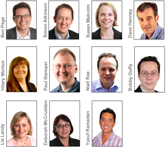 Ipsos-MORI's senior UK team