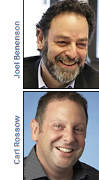 Joel Benenson and Carl Rossow