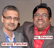 Sarang Panchal and Raj Sharma