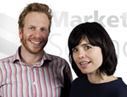 Dr Andy Myers and Cristina de Balanzo