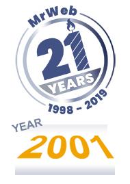 MrWeb 21 YEARS: Remembering 2001