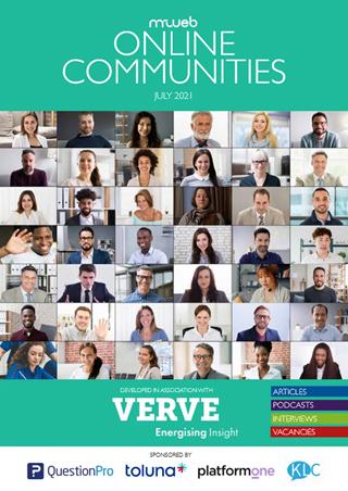 Online Communities 2021 Front Cover